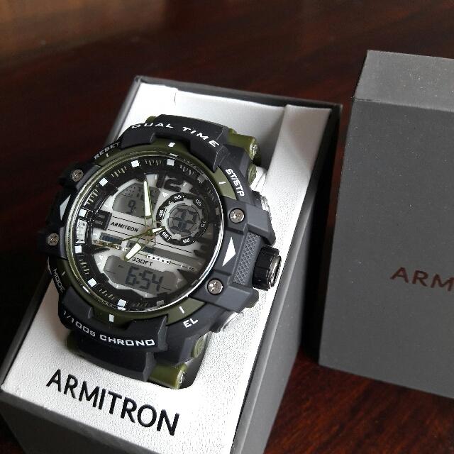 Digital analog Armitron watch - waterproof