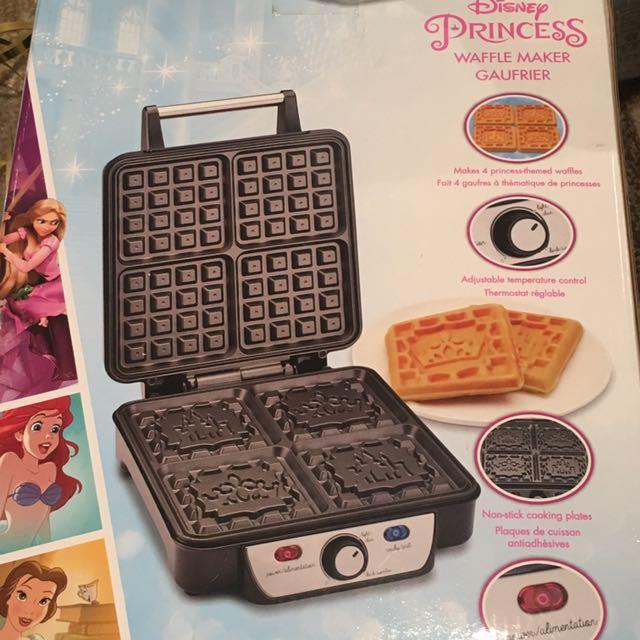Disney Princess Waffle Maker