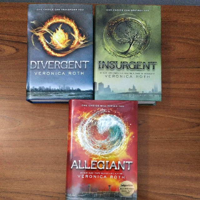 NEW + REDUCED Divergent Series Hardcover