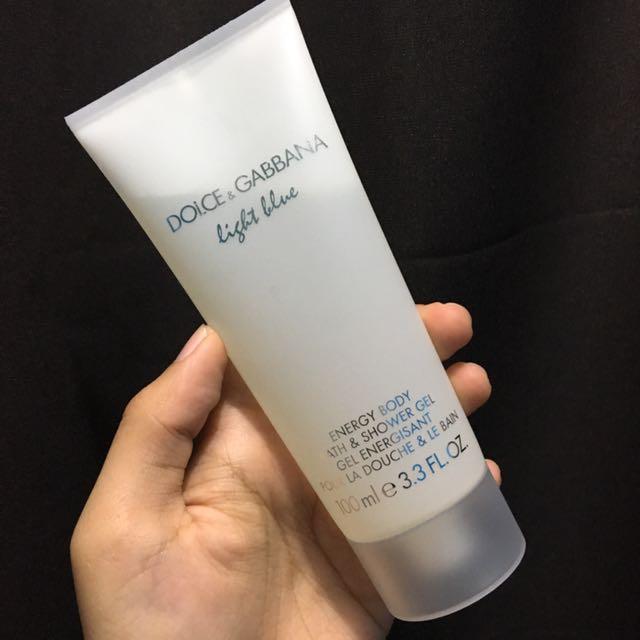 a4dab0bfca37 Dolce   Gabbana light blue shower gel