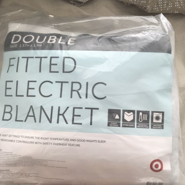 Electric Blanquet Size Double. Brand New still in packaging