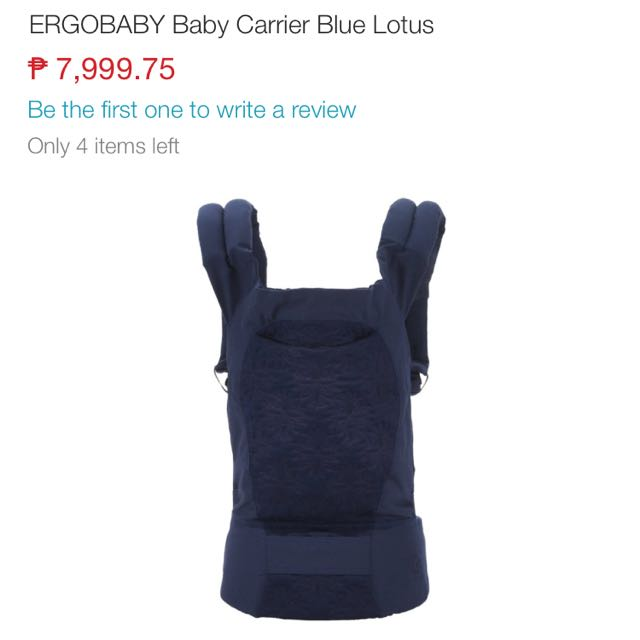 ergobaby carrier designer collection