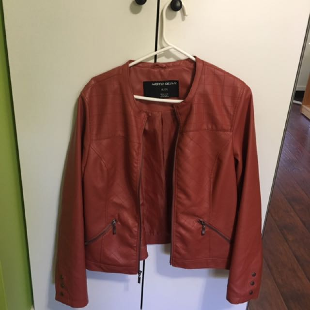 EXCELLENT CONDITION XL LEATHER JACKET