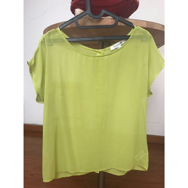 Forever21 chiffon blouse size S