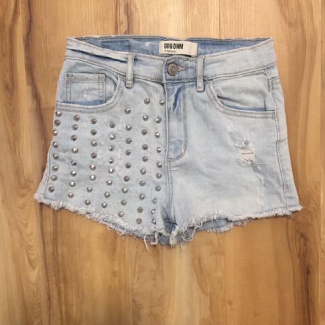 Garage denim shorts size 0