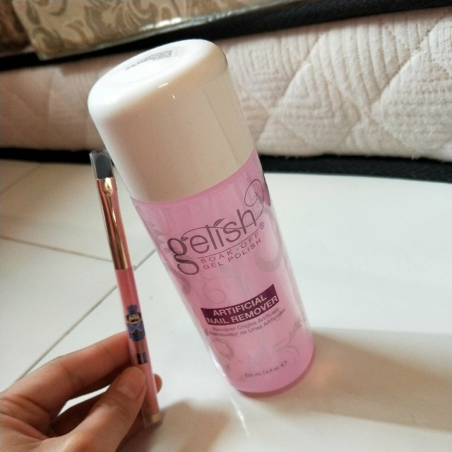 Gelish soak off Gel polish Artificial Nail Remover, Health & Beauty ...