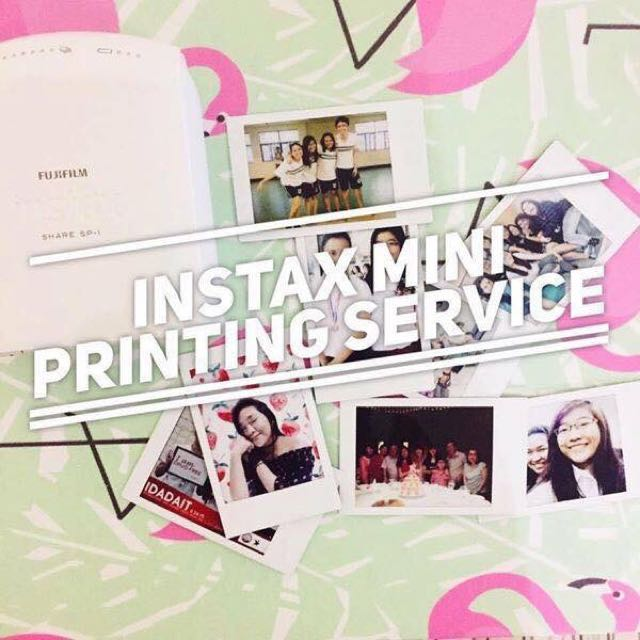 Instax Mini Printing Services