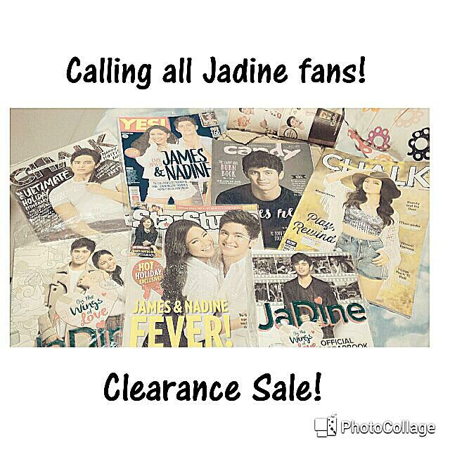 Repriced! Jadine OTWOL Magazines James Reid And Nadine Lustre Clearance Cheap Sale TAKE ALL FOR P500