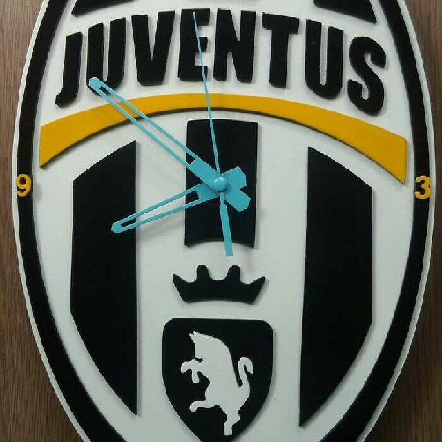 Jam Dinding Custom - Juventus cc745ba784