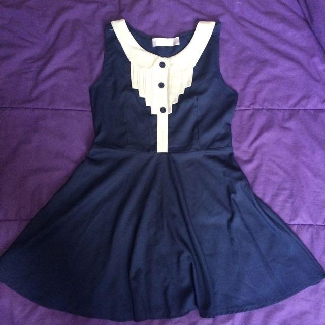 J-REP navy dress