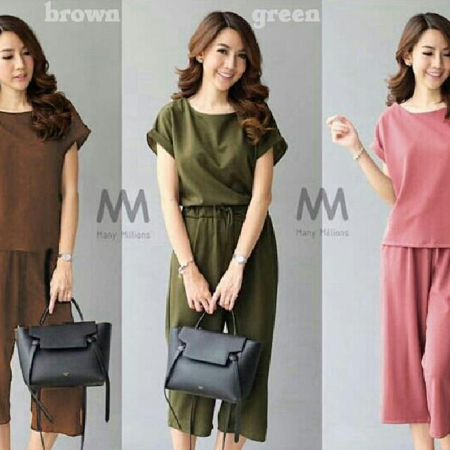 Celana Rok Kulot Wanita Jumbo Naira 03 Daftar Harga Terkini dan Source · Harga Batik kulot