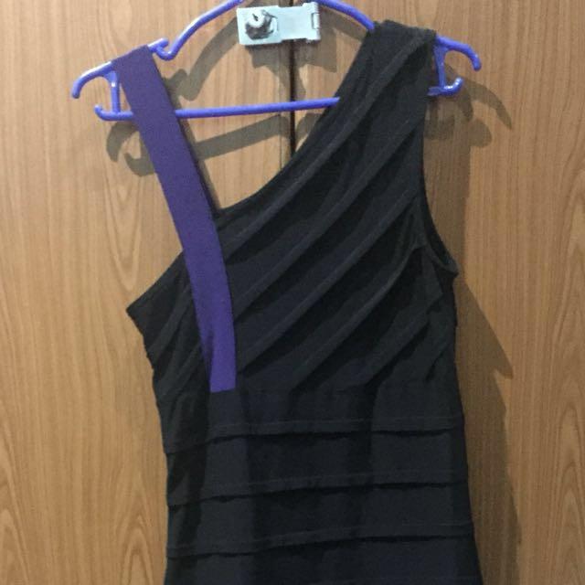 Karimadon Bodycon Black Dress