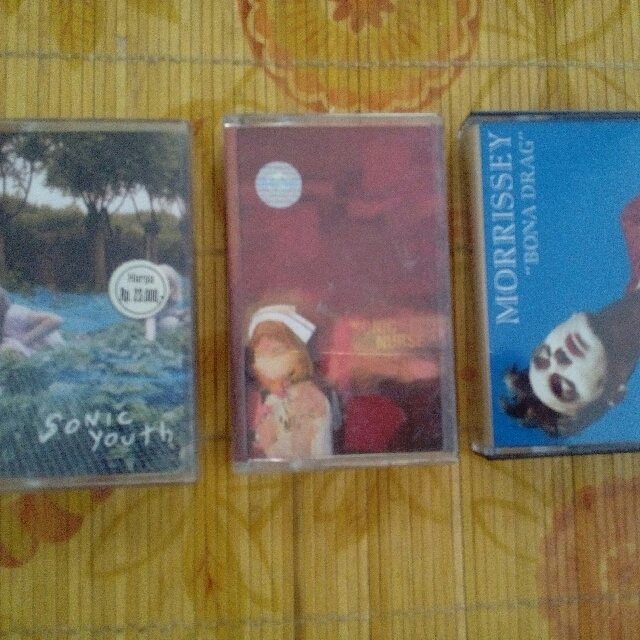 Kaset Sonic Youth,morrissey