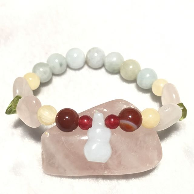 Kid's Fortune Bracelet- For Health, Love, Protection, Happiness and Prosperity