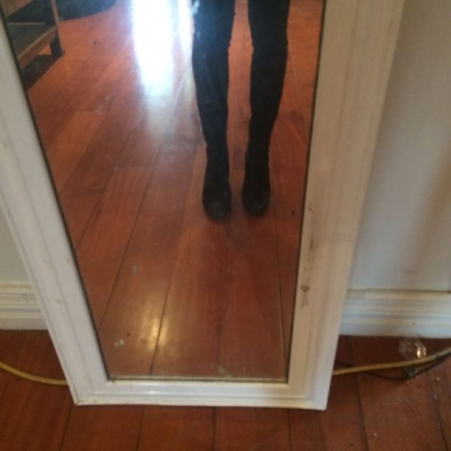 Knee high boots!
