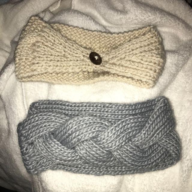 Knit headwraps