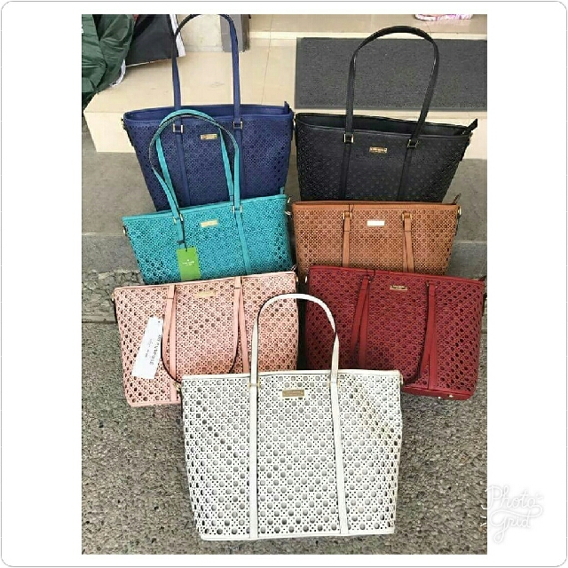 KS Perforated Tote