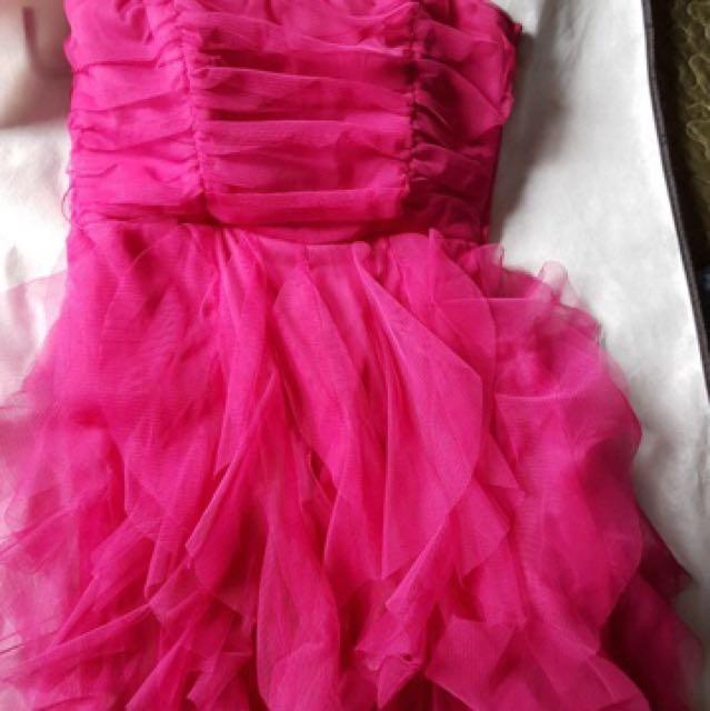 Le Chateau Pink Grad/Prom Dress