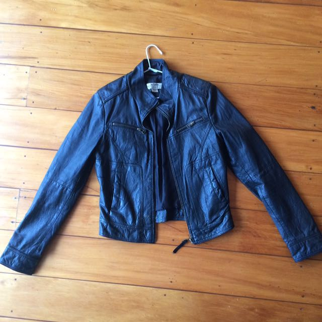Leather (genuine) Jacket