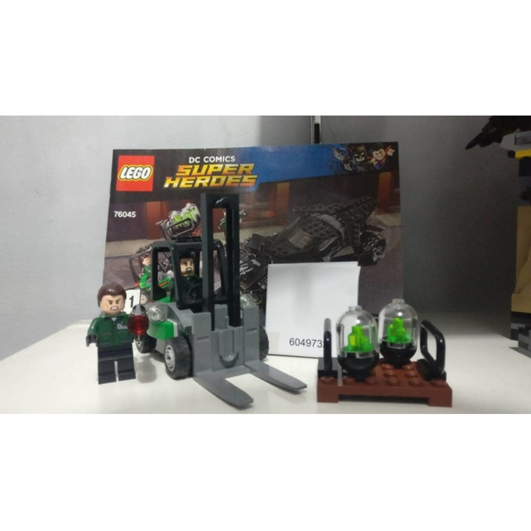 Lego 76045 - Forklift And Lexcorp Staff - Manual