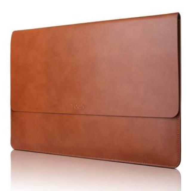 "Lenovo 14"" Genuine Leather Laptop Sleeve"