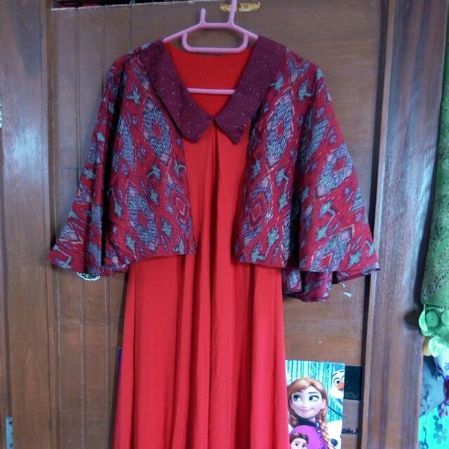 (Reprice) 50rb Minimal 2pcs Long Dress
