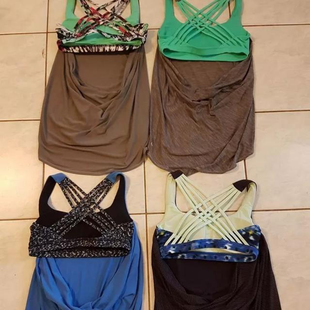 Lululemon Wild Tanks Can 6 Aus 10