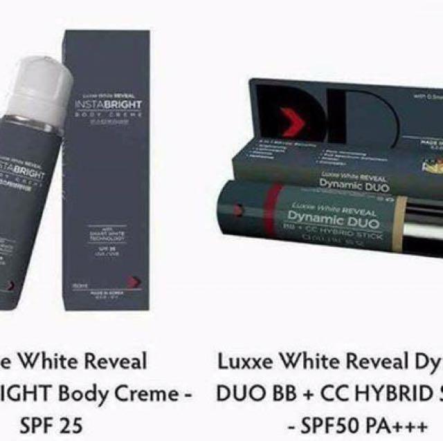 LUXXE WHITE REVEAL. Luxxe White REVEAL DD STICK