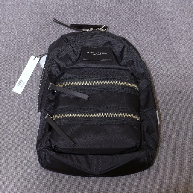 【現貨】Marc Jacobs - Nylon Biker Mini Backpack 尼龍 後背包 黑色