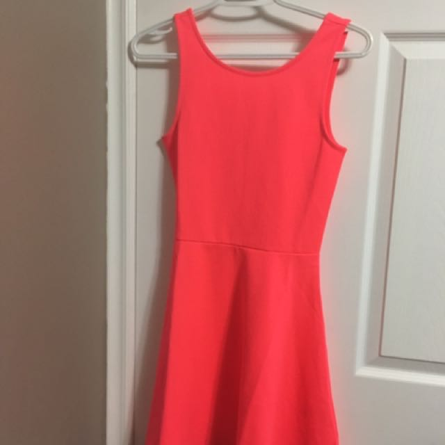 New Bright Pink (Choral) Dress