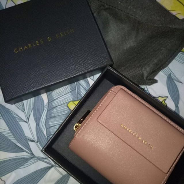 New! Charles and Keith Wallet  - Nett price please! :)