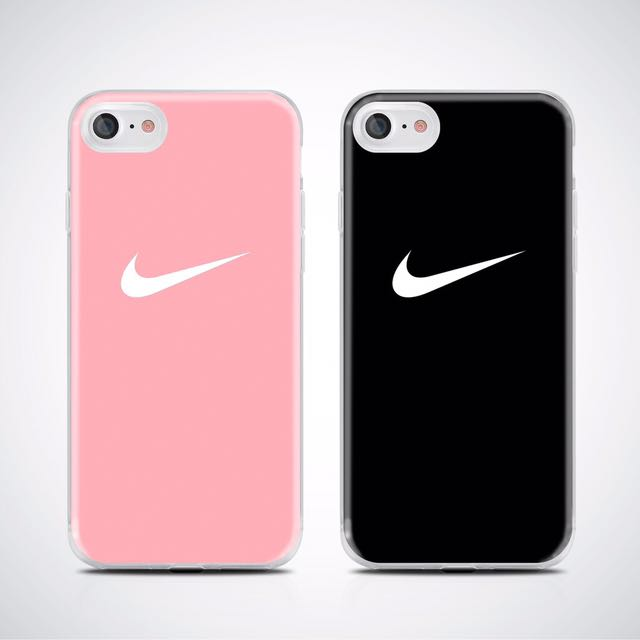 Nike printed soft case 💕