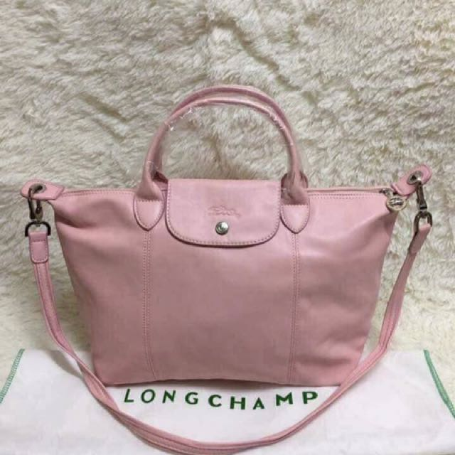 ON HAND Longchamp Cuir (Leather)
