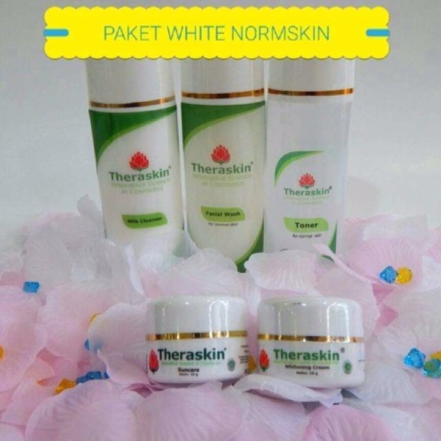 Paket whitening normal theraskin skincare