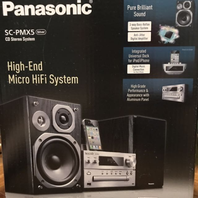 New Deal Used Cars >> Panasonic high-end micro HiFi System, Electronics, Audio on Carousell