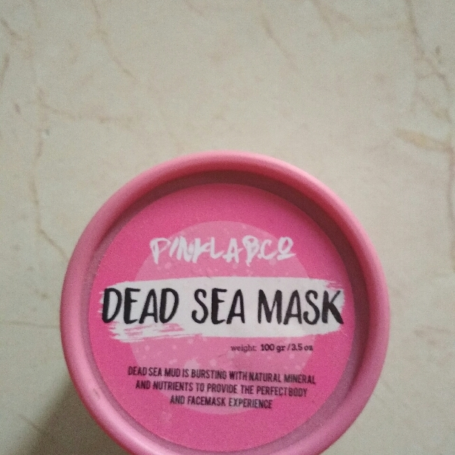 pinklab pink lab and co dead sea mask free ongkir
