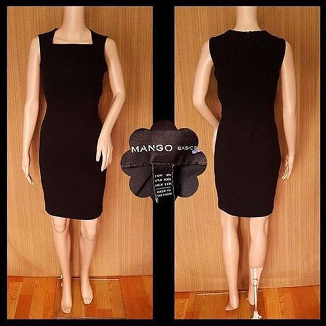(REPRICED!) MANGO Black Dress