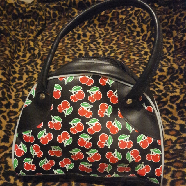 Rockabilly Cherry Bag