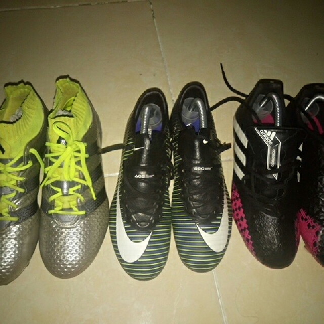 ea5d08969def sepatu bola murah, original, second, terawat, Sports, Other Sports  Equipment on Carousell