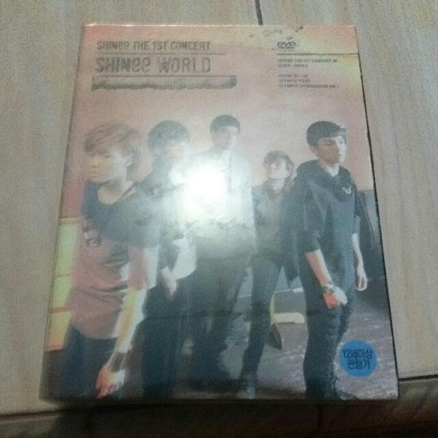 SHINee The 1st Concert SHINee World DVD
