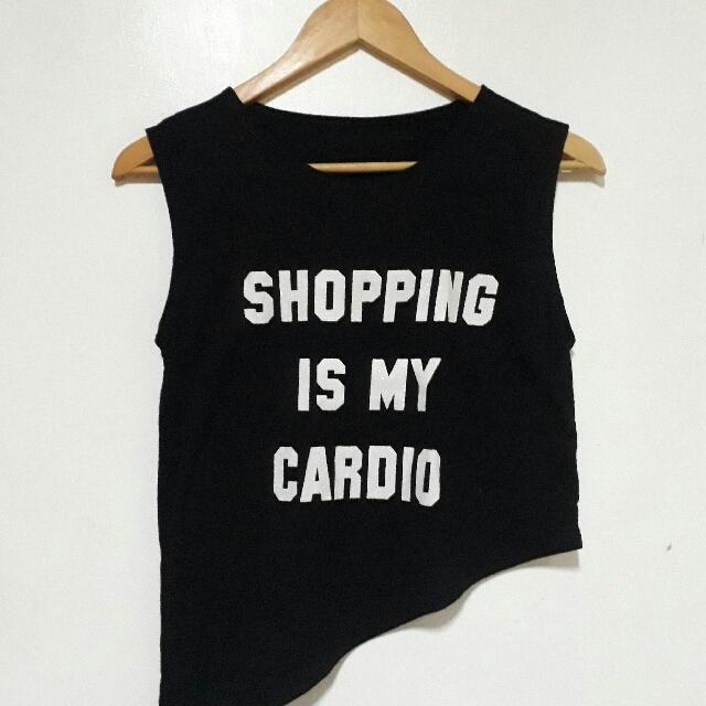Shopping is my Cardio Tee