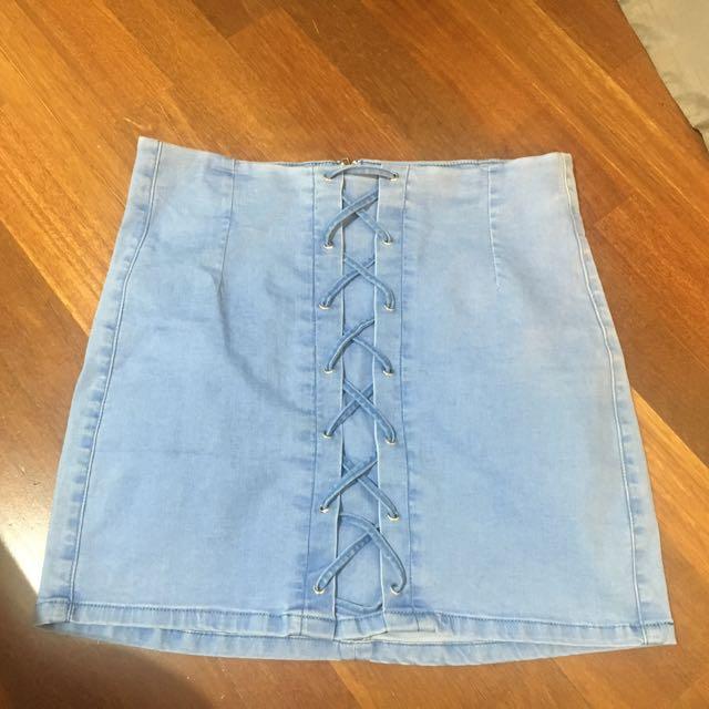 Showpo mini skirt