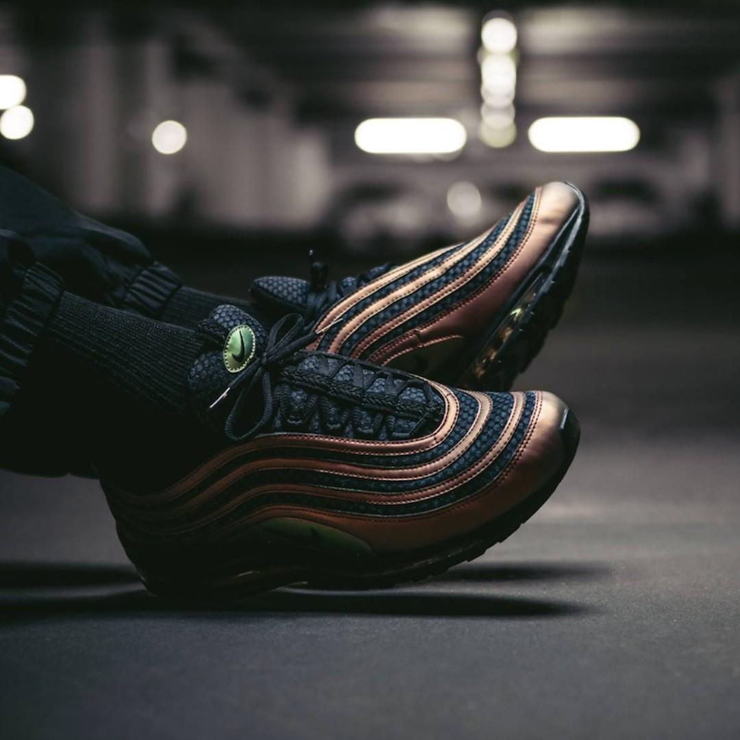 Skepta x Nike Air Max 97, Men's Fashion, Footwear on Carousell