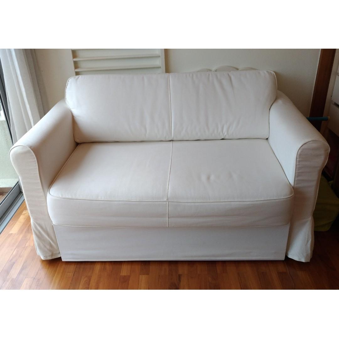 Ongebruikt Sofa bed Ikea HAGALUND, Furniture, Sofas on Carousell VR-32