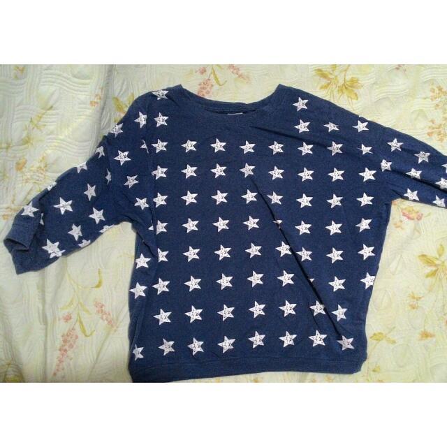 Starry 3/4 Sweatshirt