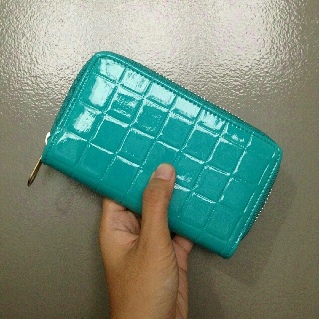 Stock 2: Teal Candy Pop Wallet FREE SHIPPING FOR METRO MANILA