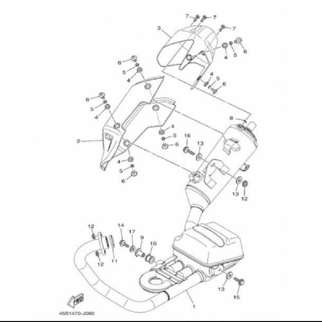 Incredible Yamaha Fz16 Exhaust Stock Motorbikes Motorbike Accessories On Wiring Database Ilarigelartorg