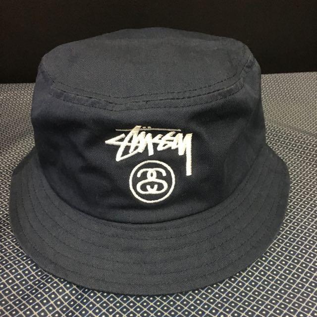 Stussy深藍色漁夫帽