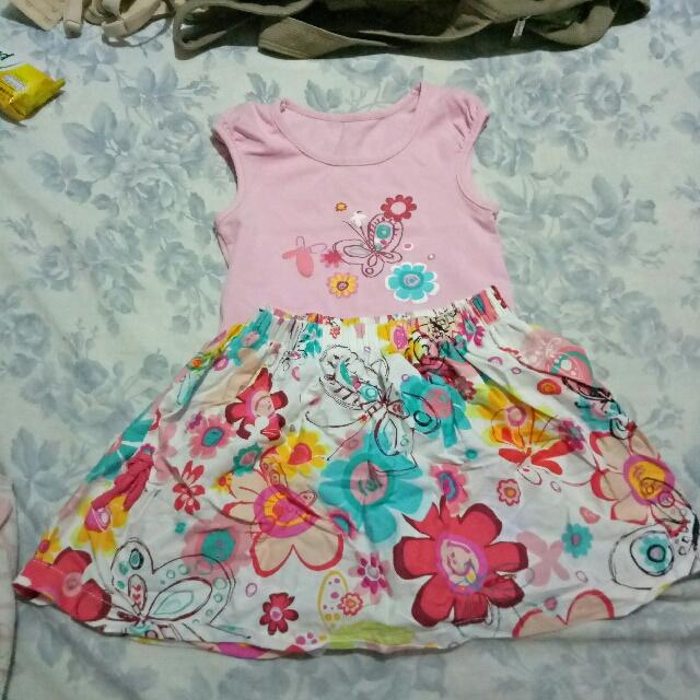 Sun baby terno blouse & skirt