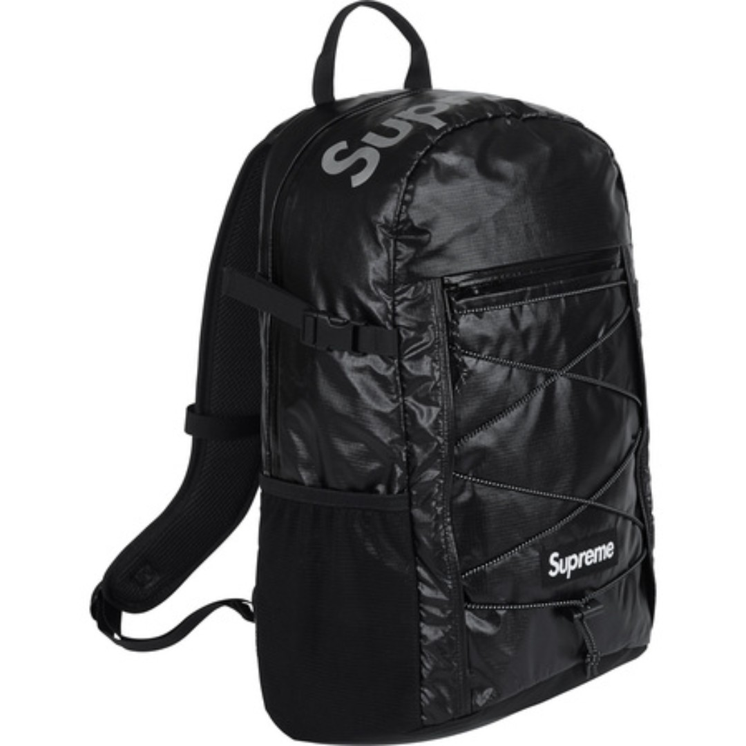 389b6826599 Supreme] FW17 Backpack Black, Men's Fashion, Bags & Wallets on Carousell